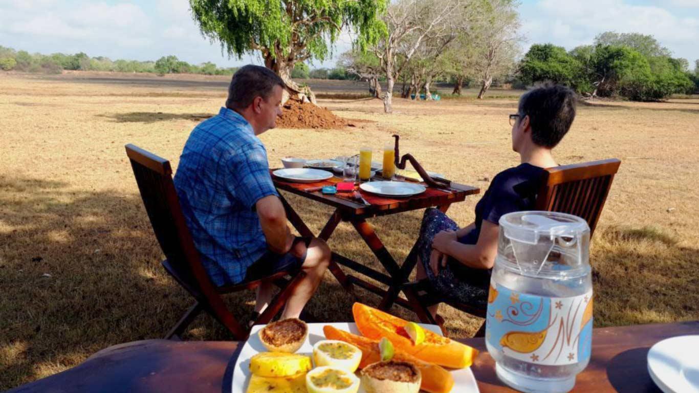 Breakfast - The Ibis Wilpattu