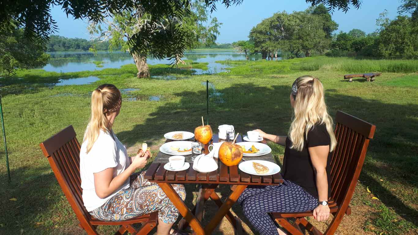 Nature loving breakfast - The Ibis Wilpattu