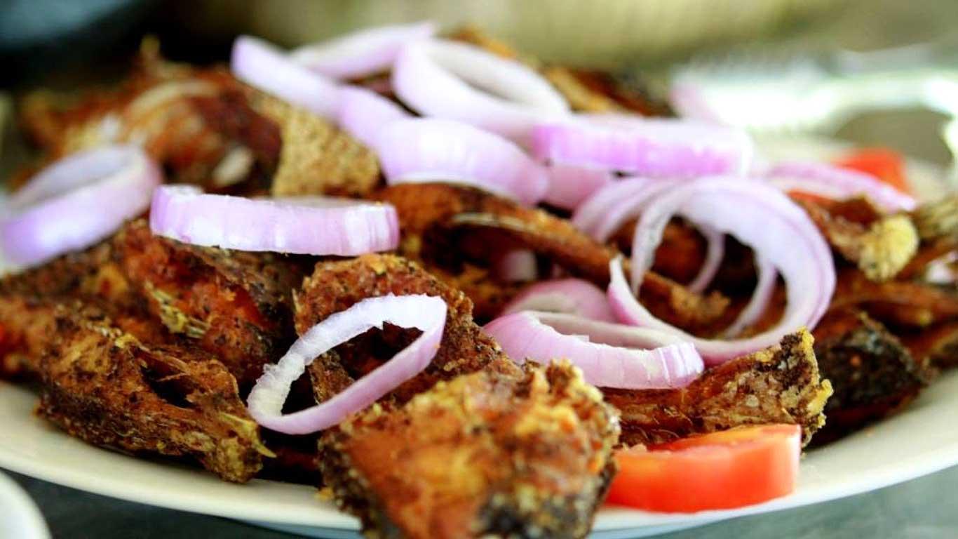 Fried fresh water fish - The Ibis Wilpattu